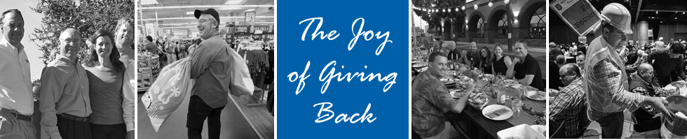 The Joy of Giving Back