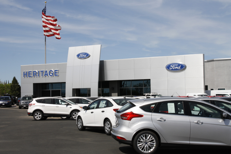 Ford Dealership Modesto >> Heritage Ford Huff Construction
