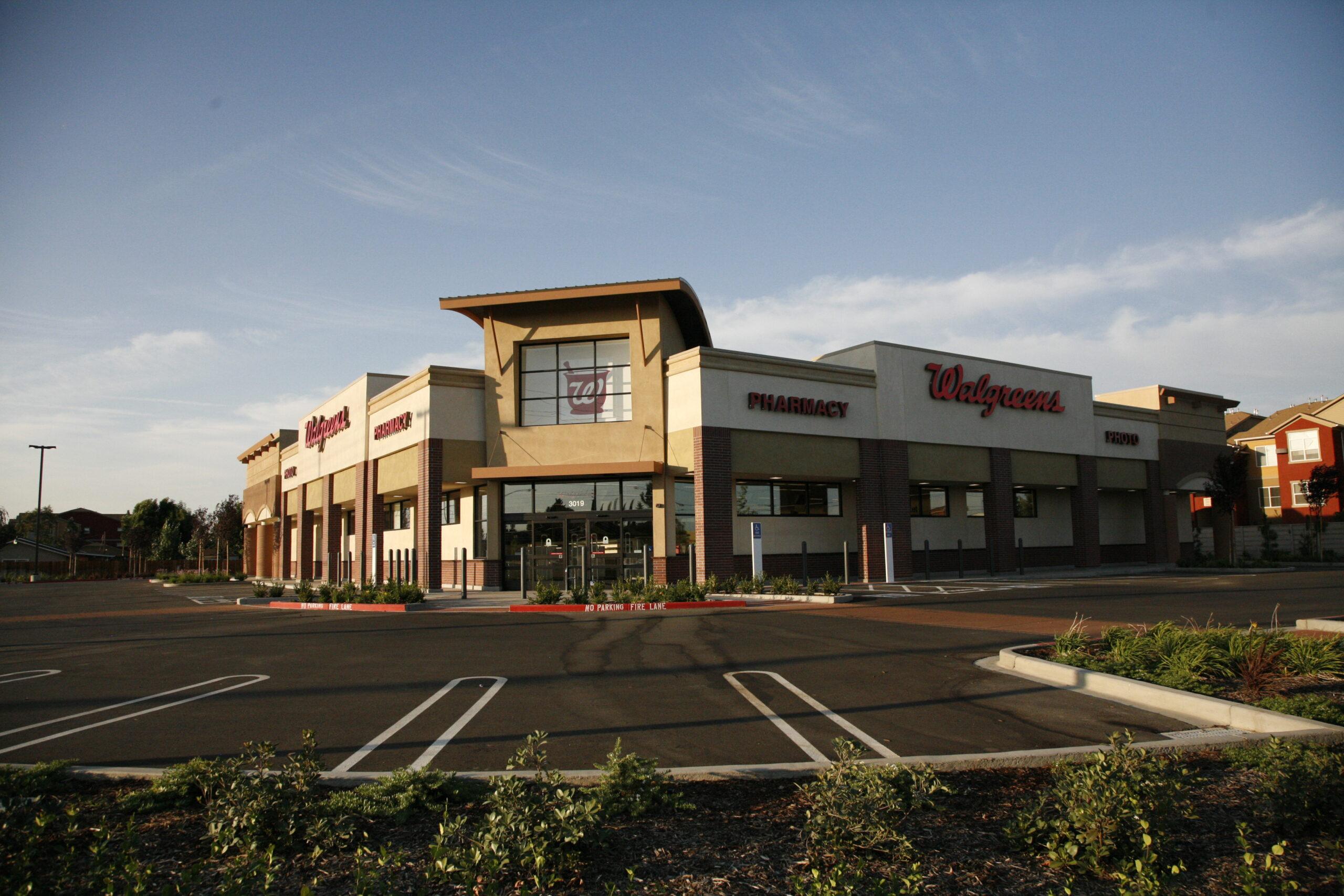 Walgreens Employee Login >> Walgreens - Modesto   Huff Construction