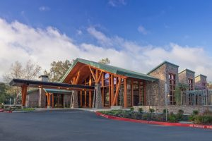 Huff Construction projects experience Rossmoor Event Center