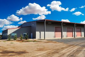 This is an image of the Ardis Farming office and warehouse.