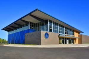 Metal Buildings Mark Gallo Health and Fitness Center