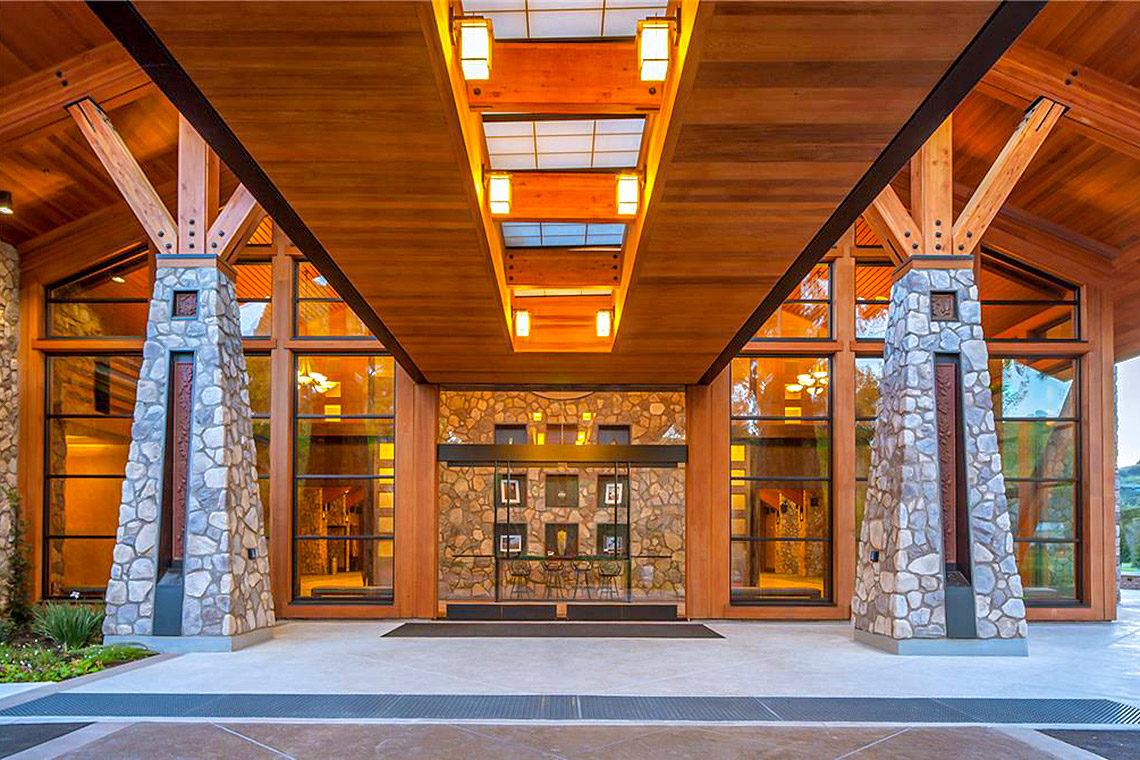 Rossmoor Event Center Entrance
