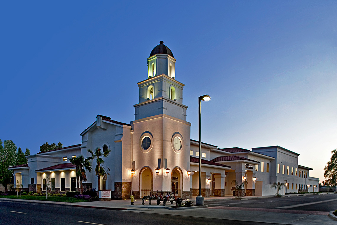Exterior photo of Tower Health & Wellness in Turlock, CA