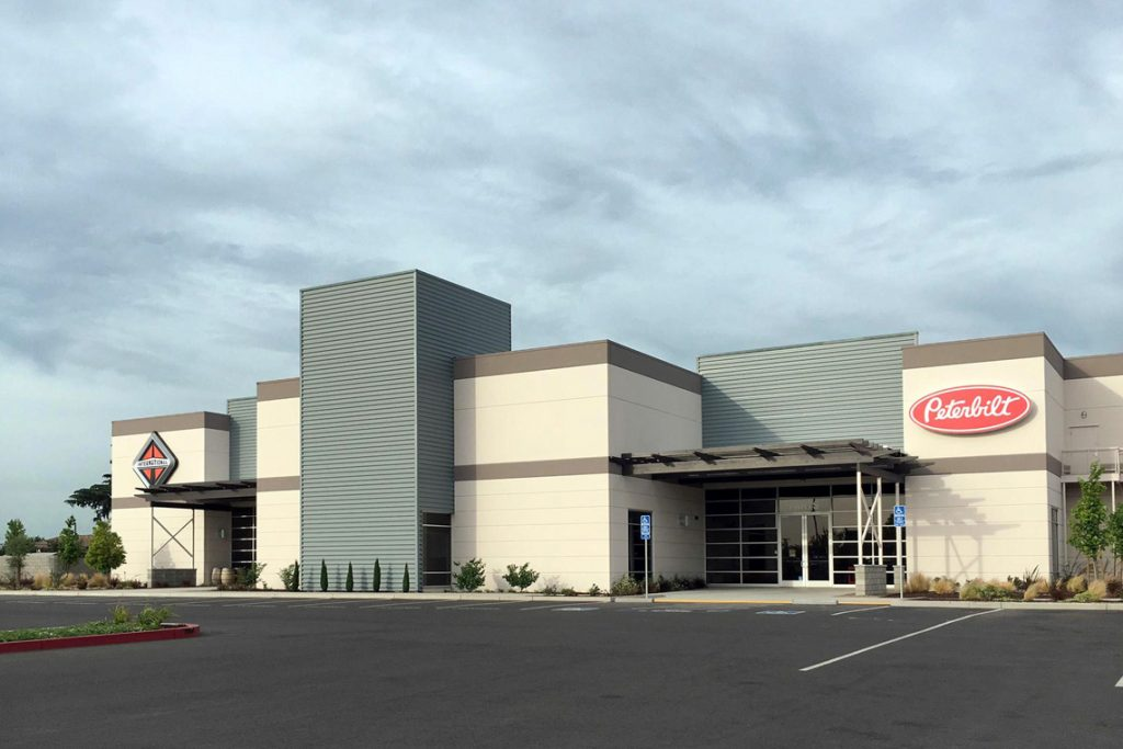 This is an image of interstate truck center in Stockton, CA.