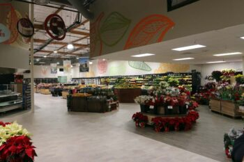 This is a picture of Save Mart Supermarkets in Oakdale, California. Huff Construction completed an interior renovation and expansion of this grocery store.