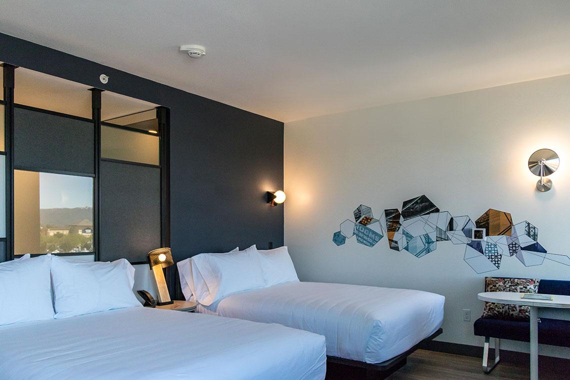 Aloft Hotel Dublin Pleasanton Bedrooms