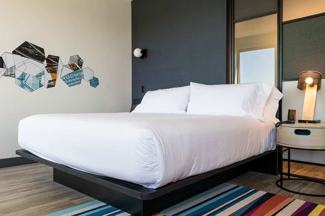 Aloft Hotel Dublin Pleasanton Bedrooms