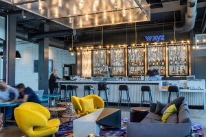 Aloft Hotel Dublin Pleasanton wxyz bar and lounge
