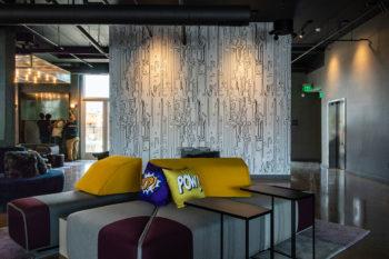 Aloft Hotel Dublin Pleasanton Lobby