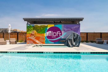 Aloft Hotel Dublin Pleasanton Pool