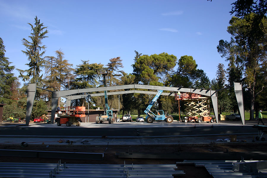 Del Rio Maintenance Shop Huff Metal Building Construction