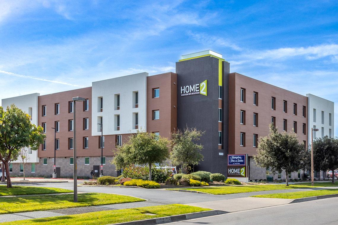 Home2 Suites Hotel Alameda Construction