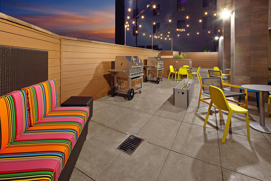 Home2 Suites Hotel Alameda California Exterior Patio