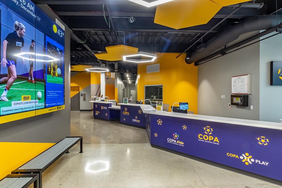 SHADELANDS SPORTSMALL COPA soccer training center