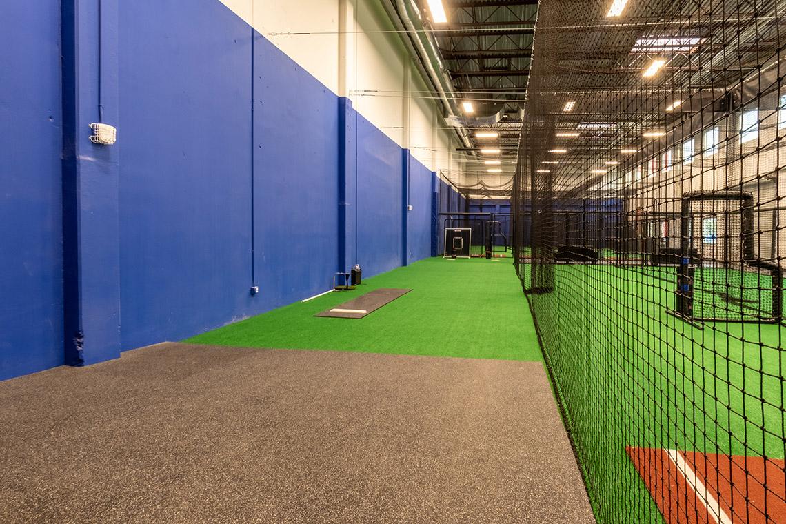 Interior of the SHADELANDS SPORTSMALL Baseball