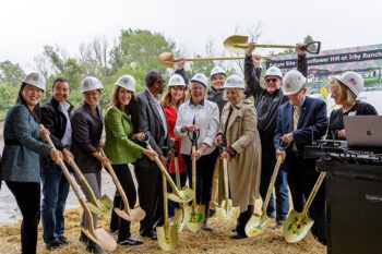 Sunflower Hill at Irby Ranch Ground Breaking Ceremony