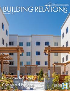 Huff Construction Building Relations Newsletter Summer 2019