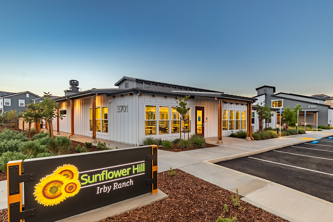 Image showing Sunflower Hill at Irby Ranch Affordable Housing in Pleasanton, CA