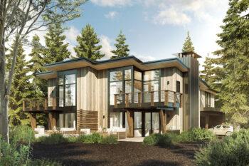 Manzanita Model Home for the Village at Gray's Crossing development in Truckee, CA